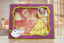 Disney Princess Craft Collection / Following the highly successful launch of the Disney Frozen and Disney Vintage Mickey Mouse craft collections this summer, Create and Craft TV has teamed up with Character World to launch a new range of Disney branded crafting products, available from Monday 7th November at 8am!