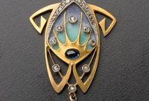 Mucha jewellery