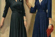 Vintage wardrobe