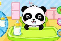 Доктор Панда Кики / Мультфильмы про малыша Панду. Cartoons about the baby Panda.