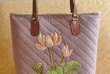 Bolsas / carteiras - patchwork/tecido / Bolsas / carteiras - patchwork/tecido