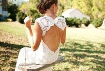 Bridal wear / Dresses make up shoes hair