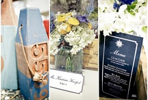 Weddings: Nautical Wedding / Nautical Wedding Ideas and Inspiration / by Catie Ronquillo Wood
