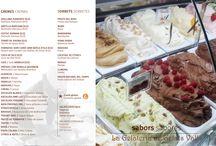 Gelats Valls I Carta de Sabors / Fruit d'una contínua recerca sobre textures i sabors els nostres experts gelaters han creat una linea de gelats únics i inimitables.