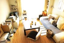 Japanese home / Japanese interior and home decorating ideas