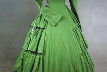1860's-1870's Costume