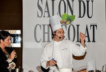 Salon du Chocolat,  Monaco - Julien Beaulieu / Julien Beaulieu, Chef Pâtissier, French Pastry Seminar,  Hotel Sofitel Athens Airport, 1-12-2014