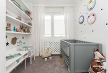 Chambres enfants/bébés / De nombreuses inspirations de chambres d'enfant modernes, parfaitement aménagées aux déco toujours douces et dans l'air du temps. Des chambres d'enfants à croquer !