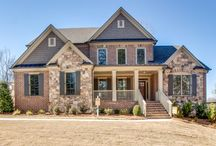 Model Home - Nesbit Landing/ Reserve / Model home: Willmont Plan (Nesbit Landing by Home South Communities) Located in Sandy Springs, Georgia and priced from the high $700's.