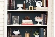 Interior Design: Bookcases/Bookshelves