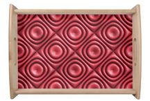 Serving Tray / 3d seamless pattern with Serving Tray.