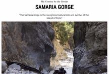 Crete,Samaria Gorge / Hike Through Samaria Gorge
