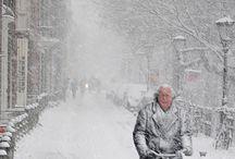 Dutch winter / Koud, wind en nog steeds op de fiets