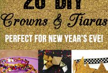 A Sparkling New Year's Eve / make new years eve sparkly