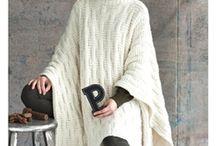 Вязание - Пончо, накидки (PONCHO)