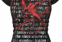 Hunger games merch / I know, I know.......I'm obsessed.......but who isn't obsessed with the Hunger games?!?(and of course Jen and Josh too)