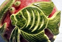 Food Arts / Fruit and Vegetable Carvings