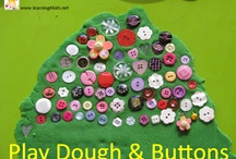 Kids: Play dough, paint, and everything sticky / by Dagny K.