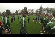 Soccer--inside an academy / North American and European soccer academies