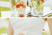Wedding Inspiration : Orange