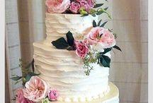 Svatební dorty a jiné občerstvení / wedding cakes