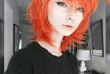 colourful hairs