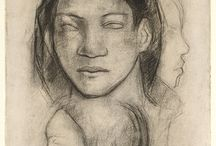 Paul Gauguin drawings