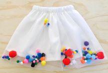 Floating Pom Pom Skirts