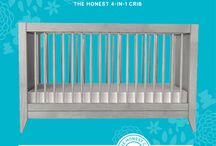Babyletto <3 Honest / We're pleased to announce the The Honest Company 4-in-1 Convertible Crib, produced in partnership with @babyletto! / by babyletto