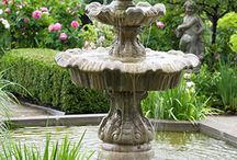 Water features, fountains