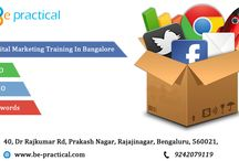 Digital Marketing Training institute in bangalore / BEPRACTICAL intention to provide Internet Marketing Knowledge to the small business owners and to offer bright career to the young individuals, services with a combination of new and modern techniques in a structured offline class-room training sessions. If Web & Internet Marketing is your passion, we are here to make you walk through Digital Marketing, SEO, SMO, and PPC Management.