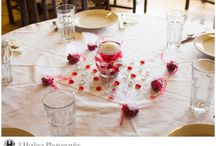 Red and White Wedding / Wedding decor ideas with red and white as the color scheme.