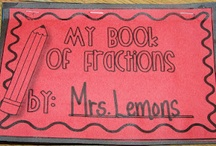 elementary math: fractions  / by Jamie Marie