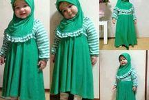 Baby cute hijab