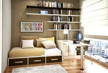 office guest room / by Melissa Phifer