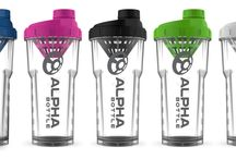 Alpha Bottle / The Alpha Bottle was born to be the ultimate shaker. Simple. Uncompromised. Effective.