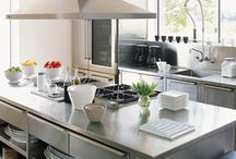 Real chef needs a real kitchen! / Big, clean and smart kitchens In which you can feel like a professional  chef