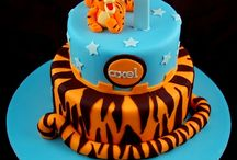 Tigger and cakes