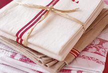French linen/wash- dish clothes/dish towels
