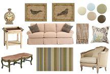 living room / by Patricia Barrett