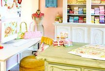 Home Sweet Home // Craft- Sewing- Art Room & Organized 5 / by Charlotte Janssen