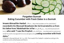 Natural remedies / Allah has informed us from His messenger (shalallahu ' alaihi wasallam) from the Qur'an and al-hadits about the food which has His blessing (more than any other).