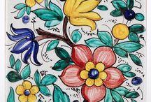 Azulejos pintado a mano