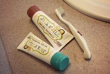 Jack n' Jill Toothpaste / Natural toothpaste with organic flavors.