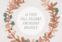 Photoshop Brushes / Downloadable photoshop brushes for your reference.