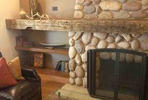 Fireplace + Mantel + Hearth