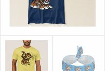 Cute Cartoon Tigers T-Shirts and gifts by Cheerful Madness!! at Zazzle