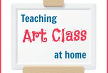 Art for Homeschool and Education / Ideas for teaching Art in your studies.