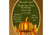 Thanksgiving  / Thanksgiving decor ideas, thanksgiving food ideas, thanksgiving party invitations