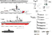 War on the Waves today / Naval vessels in the contemporary navies of the world